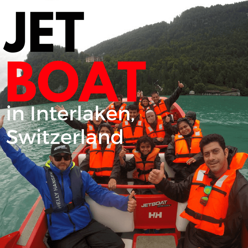 JET BOAT INTERLAKEN.